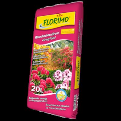 Florimo Rhododentron és Azálea virágföld   20 l